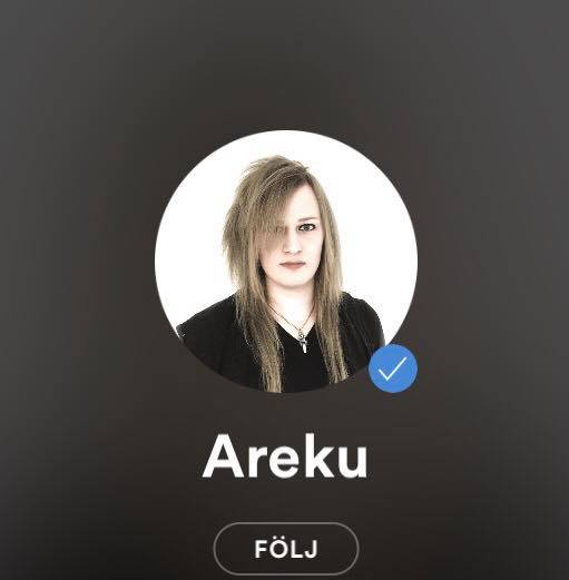 AREKU Spotify verified